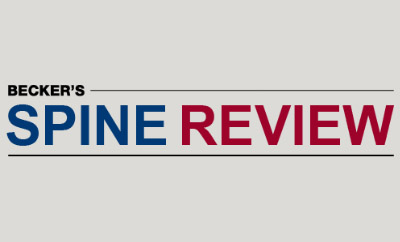 Dennis Crandall Featured as One of Becker's Spine Review's