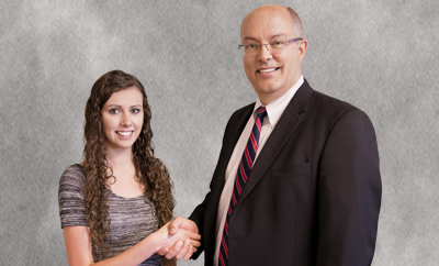 Giselle Arnold and Dennis Crandall, MD