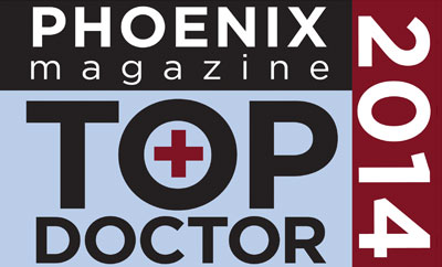 Dr. Crandall Named 2014 Top Doc by Phoenix Magazine for the Sixth Consecutive Year