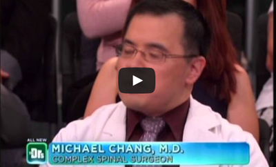 2nd time for Dr. Michael Chang on the Doctors TV Show