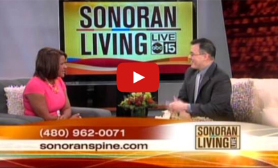 ABC 15's Sonoran Living Interviews Dr. Chang about Pediatric Scoliosis